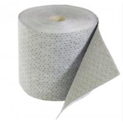 Absorbent cloth - roll white