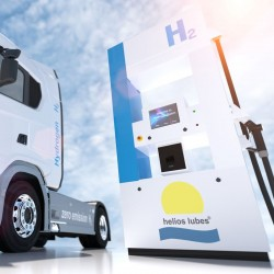 Mobile Wasserstofftankstelle helios hydrogen®